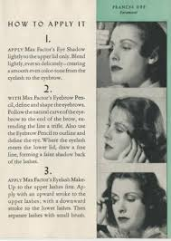 women s 1940s makeup an overview