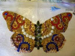 using fiberglass mesh mosaic art supply