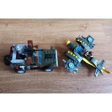 W081153) - ( 241 PCS) - Đồ chơi xếp hình LEGO QUÂN SỰ COMBAT ZONE QMAN  1707, giá chỉ 140,000đ! Mua ngay kẻo hết!