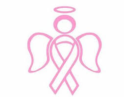 Ribbon Angel Car Wall Decal Sticker Support Breast Cancer Love Boobs Pink Halo Ebay