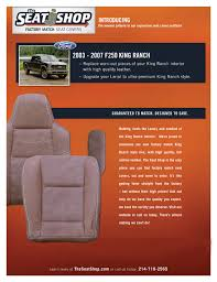 new king ranch style covers from the