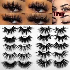 30mm thick makeup lashes 3d mink hair