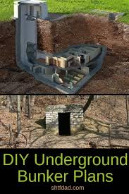 diy underground bunker plans if you re