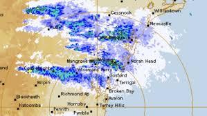 It's not rain': Eerie BoM map explained ...