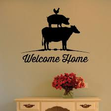 Farm Welcome Home Wall Quotes Decal Wallquotes Com