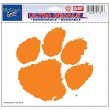 Clemson University Stickers Decals Bumper Stickers