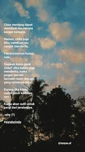 quotes bucin senja ayuk move on jatuh cinta