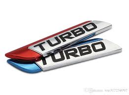2020 Car Decal 3d Metal Turbo Turbocharged Car Sticker Logo Emblem Badge Decals Car Styling Diy Decoration Accessories For Frod Bmw Vw From Wsr317234997 1 36 Dhgate Com