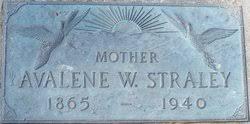 Avalene Ava Webb Straley (1865-1940) - Find A Grave Memorial