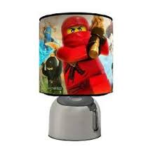 Ninjago Touch Table Bedside Lamp Choose From 3 Designs Kids Room Ebay