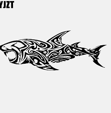Top 10 Largest Stickers Shark Tribal Ideas And Get Free Shipping A277