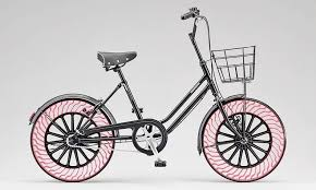 bicycles with airless tires to debut at