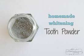 homemade tooth whitening powder with