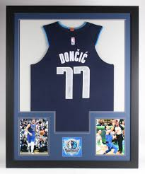 Luka Doncic Signed Dallas Mavericks 35x43 Custom Framed Jersey ...