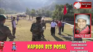 organized by indian army 39rr in poonch