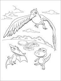Dinosaur Train Kleurplaat Printen 7