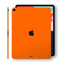 Ipad Pro 11 Orange Matt 2018 Skin Wrap Decal Easyskinz