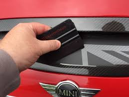 Mini F54 F55 F56 F57 Union Jack Hood Scoop Decal Kit Installation Guide