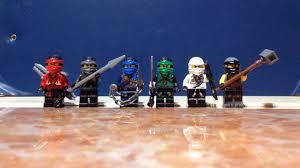 LEGO NINJAGO MOVIE CUSTOM ALL NINJA SUITS:KAI, NYA, JAY, LLOYD, ZANE AND  COLE - YouTube