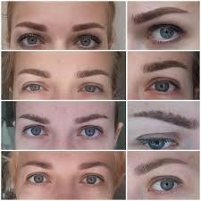 scabbing eyebrow tattoo healing process
