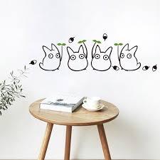 Mega Sale 302d2 1pc Creative Cartoon Totoro Wall Decal Vinyl Wall Sticker Mural Sticker For Kids Bedroom Decal Home Wallpaper Art Applique Decor Cicig Co