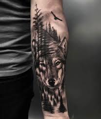 Pin De Krzysztof Pol Em Tatuaz Przedramie Tatuagem De Lobo No