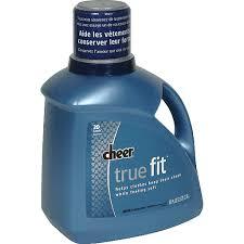 cheer true fit detergent liquid