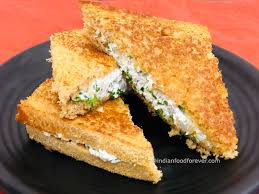 Paneer Sandwich On Tawa - Paneer Sandwich Without Toaster