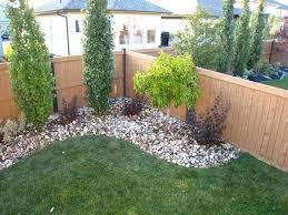 garden ideas at fenceline