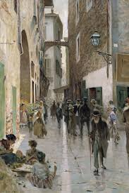 Telemaco Signorini, Il ghetto di Firenze, 1892 circa
