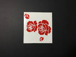 Red Roses Car Decal 3l X 3w Aradevon Crafts Online Store Powered By Storenvy