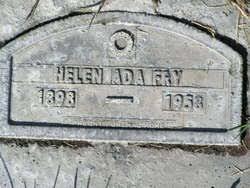 Helen Ada Bailey Fry (1898-1958) - Find A Grave Memorial