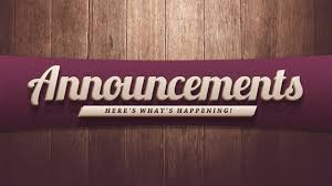 Image result for announcements and upcoming events images