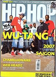 Hip Hop Connection Jan/Feb 2008 | Wu - Tang Clan (cover | NAS, Pyrelli,  Million Dan, Rik Cordero, Chamillionaire, Chuck D, JA Rule: Hip Hop  Connection: Amazon.com: Books