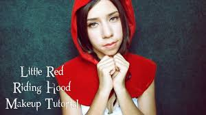 little red riding hood makeup tutorial