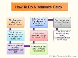 bentonite detox how do you do one