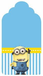 Despicable Me Free Printable Candy Bar Labels Hacer