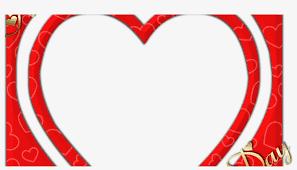 frame cu valentines day frame png