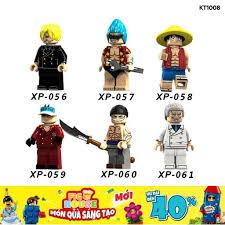 Non-LEGO] Các Nhân Vật One Piece Vua Hải Tặc KT1008 - Đồ Chơi Lắp ...