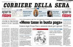 Il Corriere della Sera a pagamento? Basta cancellare la cronologia ...