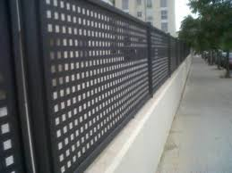 Perforated Metal Fencing For Balcony Staircase Corridor Barrier