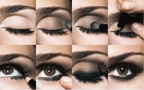 how to apply smokey eye makeup style