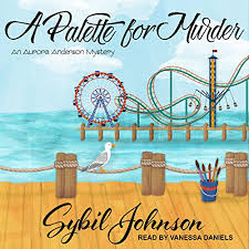 Amazon.com: A Palette for Murder: Aurora Anderson Mystery Series ...