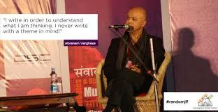 Cutting for Stone' – Abraham Verghese – Penguin India Blog
