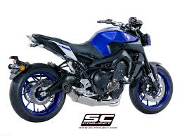 s1 exhaust by sc project yamaha fz 09