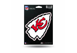 Nfl Football Kansas City Chiefs Window Decal Sticker Officially Licensed Custom Sticker Shop