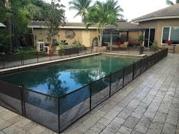 Pet Fence Diy 24 X 12 Do It Yourself Pool Safety Fence Black Pet Fence Diy By Life Saver Pool Fence