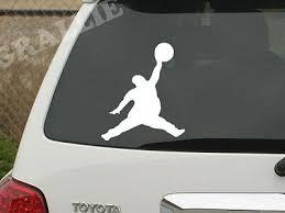 Fat Michael Air Jordan Jumpman Funny Vinyl Window Auto Car Sticker Decal Die Cut Ebay