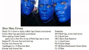 best blue man group makeup for you