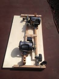 home made fishing downriggers by